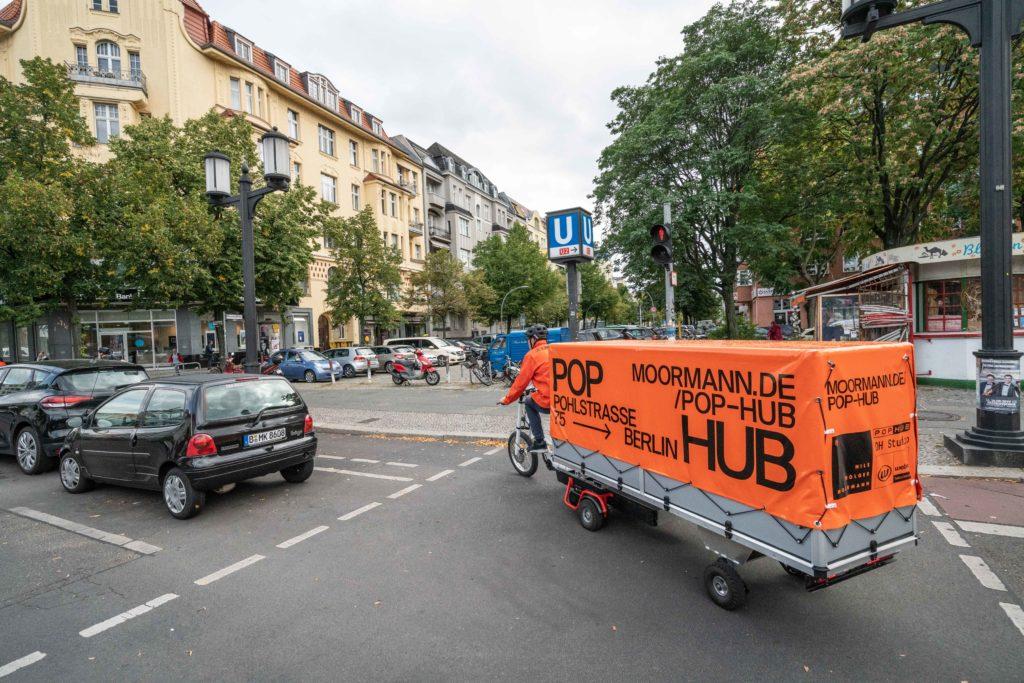 POP_HUB in Berlin, Pohlstr. 75 während der Berlin ART WEEK 2019