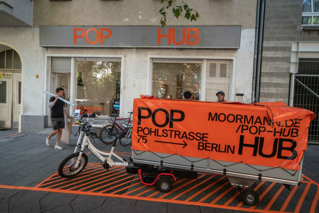 POP-HUB Berlin, Pohlstraße 75